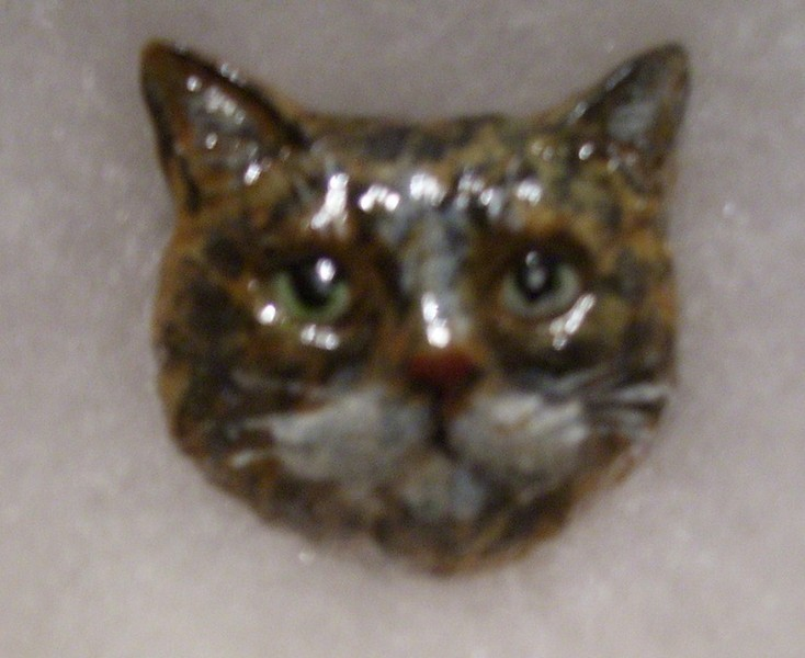 Awesome More Hand Painted Pewter Cats